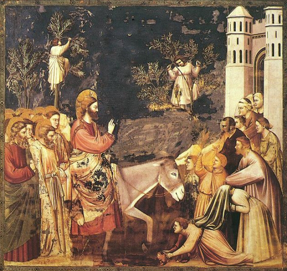 triumphal entry giotto