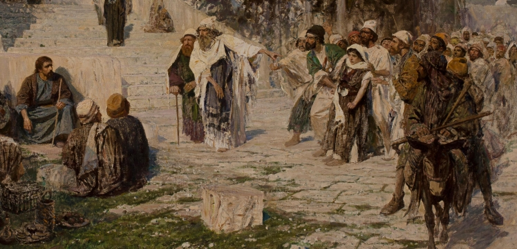 Vasilii_Polenov,_He_that_is_Without_Sin._Bonhams